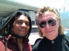 Benny Mardones (Into The Night), and me at a shoot for a reality show pilot.